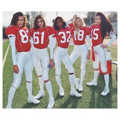 Taylor Hill and Elsa Hosk on How to Play Football Like a Victoria's Secret Angel - Taylor Hill - Cute Group Halloween Costumes, Looks Halloween, Cute Costumes, Halloween Outfits, Football Halloween Costume, M&m Costume, Costume Ideas, Halloween College, Angel Halloween Costumes