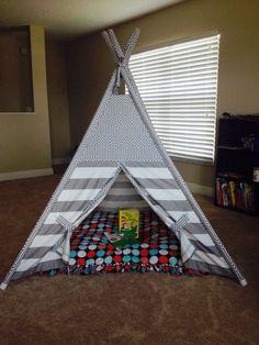 Maak een groot vloerkussen voor kinderen of huisdieren zonder naaien… SUPER IDEE!
