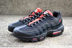 nike air max 95 black challenge red nz