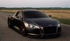 Visit The MACHINE Shop Café... ❤ Best of Audi @ MACHINE... ❤ (Brown/Bronze Audi R8 Supercar)