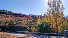 Paisatge tardorenc a la muntanya alacantina