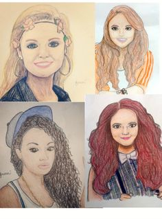 how to draw celebrities in cartoon form