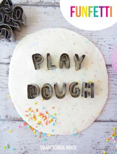 Skip the cupcakes and make this sprinkle-packed, two-ingredient play dough instead. The mixture is even edible (but nearly all sugar, so don't turn your back on little ones for too long). Get the tutorial at Smart School House »  - GoodHousekeeping.com