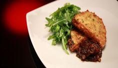 Eggplant & Haloumi Fritters