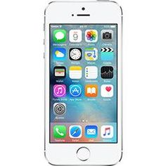 iPhone 5S 16GB Prata Tela 4 IOS 8 4G Câmera de 8MP - Apple