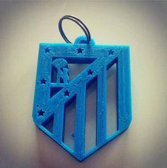 Llavero impreso en 3D del ATH Honduras