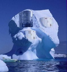 Amazing Ice Hotel, Knowing my luck   I would be there when it was melting and I would end up in the freezing water.