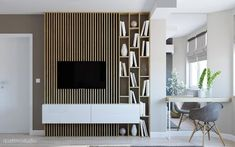 Die Ätherizität von Marmor bei Behance - New Sites Tv Wall Design, House Design, Interior Architecture, Interior Design, Modern Interior, Bibliotheque Design, Modern Tv Wall Units, Tv In Bedroom, Living Room Tv
