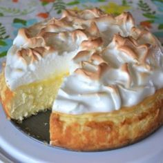 Lemon Meringue Cheesecake - Allrecipes.com
