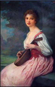 La mandoline  Charles Amable Lenoir