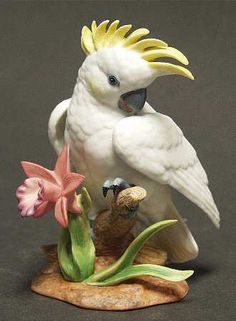 Lenox China Exotic Bird Collection: Cockatoo, 1991