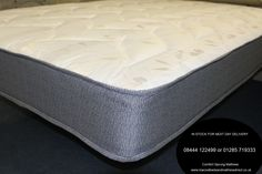 Single Extra Long Ortho Dreams Firm Mattress is from our new range and has already proven to be a very popular mattress. The mattress has a firmer tension gauge spring system and is upholstered in an attractive soft damask fabric. King Size Mattress, Bed Mattress, Mattress Springs, Damask, Mattresses, Comfy, Platform, Bed Frames, Fabric