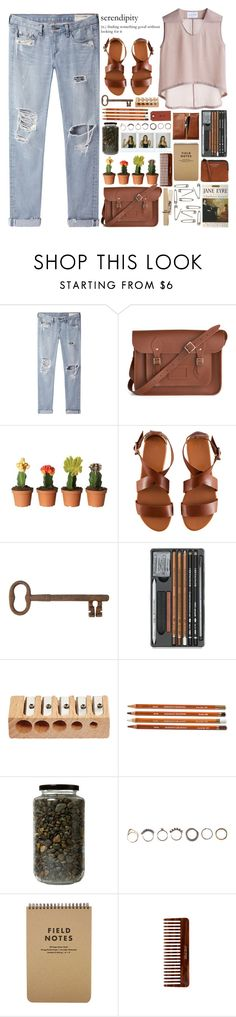 """AURORA - I Went Too Far"" by annaclaraalvez ❤ liked on Polyvore featuring rag & bone/JEAN, The Cambridge Satchel Company, Bruno Pieters, H&M, Jayson Home, Iosselliani, Polaroid, (MALIN+GOETZ), Acne Studios and Tag"