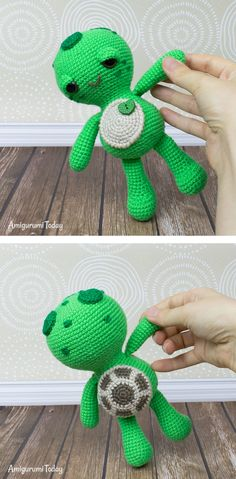 When people tell you that the little things in life matter the most, they are probably talking about little toys like this amigurumi turtle. You can make it with our Soft & Dreamy Turtle Amigurumi Pattern! Crochet Gifts, Cute Crochet, Crochet For Kids, Crochet Yarn, Crochet Hooks, Crochet Patterns Amigurumi, Amigurumi Doll, Crocheting Patterns, Amigurumi Tutorial