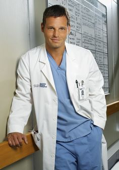 Justin Chambers - plays Alex Karev on Grey's Anatomy. What a lovable curmudgeon!
