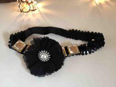 DIY Tutorial Gatsby Inspired DIY Headband : DIY Hair Accessories