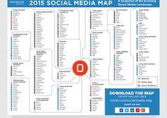 No nos da de comer pero si que es aquello con lo que nos ganamos el pan, así que mas vale tenerlo en cuenta: El Social Media Map