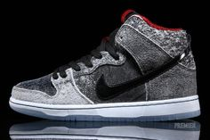 half off db48a 1be28 Nike SB Dunk High Salt Stain Sneaker Available Now (Detailed Images)