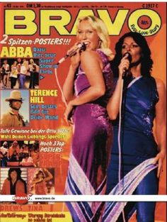 Agnetha und Anni-Frid 1979 (Titelbild BRAVO Nr. 43)