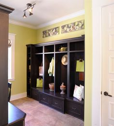 Mudroom Lockers Entry Transitional with Coat Hooks Contemporary Pendant Lights