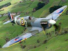 The Supermarine Spitfire. Designed and built just down the road from where I grew up. Wonderful not just for being perhaps the most significant aeroplane of WWII, but for inspiring me to take an interest in the history of my home town...