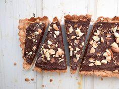 Maple Peanut Butter Chocolate Tart
