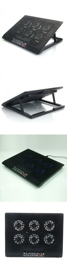 Laptop Cooling Pads 96915: 6 Fan 12 -17 Laptop Tablet Usb Led Air Cooling Cooler Adajustable Stand Pad -> BUY IT NOW ONLY: $12.99 on #eBay #laptop #cooling #tablet #cooler #adajustable #stand 17 Laptop, Laptop Desk, Notebook Laptop, Computer Stand For Desk, Laptop Brands, Laptop Cooling Pad, Cool Stuff, Stuff To Buy, Charger