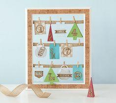 Mini Box Advent Calendar