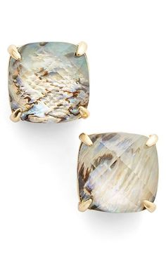 Free shipping and returns on kate spade new york square stud earrings at Nordstrom.com. Faceted square-cut earrings mesmerize in your choice of abalone or mother-of-pearl.