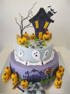 Increíble tarta de Halloween