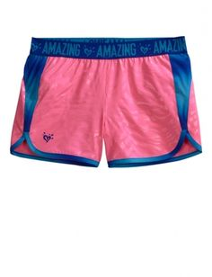 Justice-Girls Stretch Animal Track Shorts -Electric Pink-Size 6 from Justice on Catalog Spree