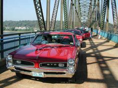 The most fabulous car ever made, the '66 GTO, from the brilliant minds at the now defunct Pontiac. *sigh*
