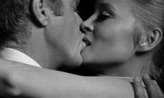"""Let's play something else."" - I LOVE STEVE MCQUEEN AND FAYE DUNAWAY!!! :D - Amy Blair"