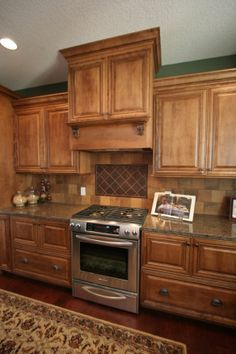decorative tile accent over cooktop - Google Search