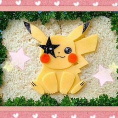 ポケモンは違和感ナシ(笑) - 42件のもぐもぐ - Paul Stanley Pikachu キャラ弁 キッス ポール・スタンレー by The Reinharts
