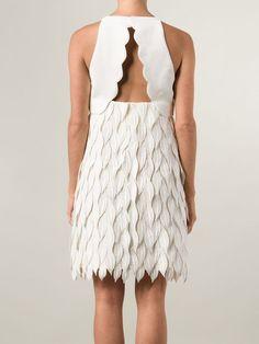 Shop Giambattista Valli petal applique dress.