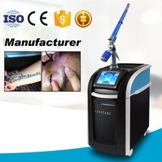 2017 hot product picosecond laser therapy tattoo removal machine/pico laser spot removal