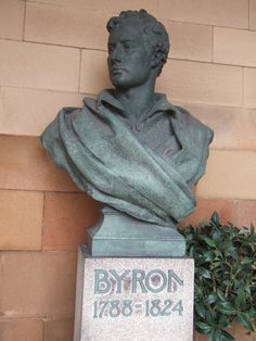 Literacy Rate, Lord Byron, Writers And Poets, World Cities, Nottingham, Literature, England, Romantic, Statue
