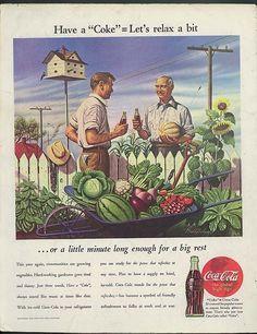 Vintage Coca-Cola Ad 1944