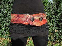 felt belt - what a great idea