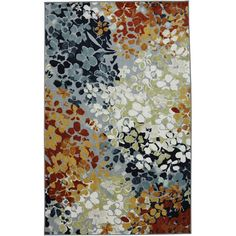Found it at Wayfair - New Wave Radiance Multi Printed Area Rug