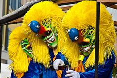 """Basel, Switzerland - Traditional masks at the biggest carneval of the country. In the german part of Switzerland the carnival is called """"Fasnacht"""" Basel, Switzerland, Halloween, Sweet Home, Bucket, Adventure, Big, Colors, Board"""