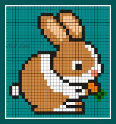 Favorit cute animal pixel art templates - Google Search | Pixel art  UH81