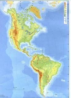 Pruebas de localización 3º ESO: MAPAS FÍSICO DE AMÉRICA Picasa Web Albums, Around The Worlds, Diagram, America, Image, Maps, Latin America, Gulf Of Alaska, Norte