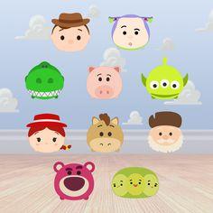 You've go a friend in these guys...   Woody, Buzz Lightyear, Jessie, Bullseye, Rex, Hamm, Aliens,   Prospector, Lotso, and Peas In The Pod....