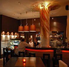 Cafe Interior Design - Fullcolor Interior Design