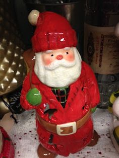 Vintage Christmas Santa Claus at Scranberry Coop Reuse, Upcycle, Antique Stores, Dog Friends, Vintage Christmas, Repurposed, Your Dog, Recycling, Artisan