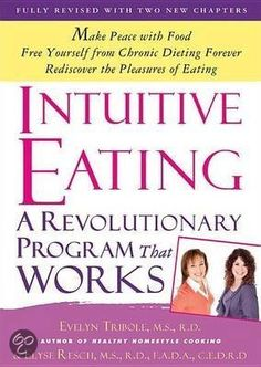 Intuitive Eating has become the go-to book on rebuilding a healthy body image and making peace with food. We've all been there - angry with ourselves for overeating, for our lack of willpower, for failing at yet another diet. But the problem is not us; it's that dieting, with its emphasis on rules and regulations, has stopped us from listening to our bodies.