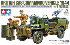 SAS Commando Willis Jeep w Vickers MG Text Wash by Räuber Hotzenplotz Military Figures, Military Diorama, Military Art, Military History, Tamiya Model Kits, Tamiya Models, Army Drawing, British Commandos, Plastic Model Kits