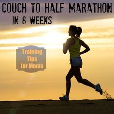 Couch to Half Marathon in 8 weeks: Training tips for moms